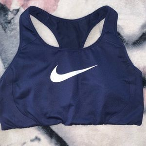 Navy Blue Nike Sports Bra